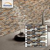 Balance de la pared de cristal Backplash Piso de baldosa Mosaico de Decoración de pared
