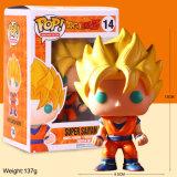 Factory Direct POP Funko Dragon Ball anime le carton de jouets en PVC de Dragon Ball Action Figure Conception de boîtier d'emballage