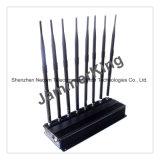 8 Blockers die van antennes voor 2g+3G+2.4G+Lojack+Gpsl1+VHF+UHF blokkeren