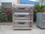 Bäckerei-Gas-Ofen, französisches Brot-Ofen-Gas, Gas-Ofen für Bakingcup Kuchen