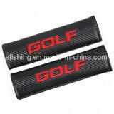 Golf-Auto-Firmenzeichen-Sicherheitsgurt-Kohlenstoff deckt Schulter-Auflagen ab