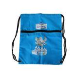 Non-Woven 190t 210t 210d полиэстер горячая продажа нового дизайна моды промо-акции СВЕТООТРАЖАЮЩИЕ ПОЛОСЫ отражатель с кулиской рюкзак сумка