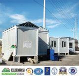 Casas de aço pré-fabricadas modulares do recipiente