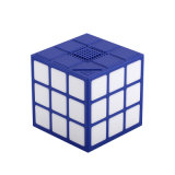 Draagbare Mini Magische Aanstaande van de Hoofd kubus Spreker met Kleurrijke LEIDEN Licht