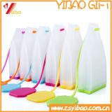Tamiz colorido del té del silicón del silicón de la categoría alimenticia de Infuser del té del silicón