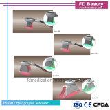 살롱 4 손잡이 판매를 위한 뚱뚱한 어는 Coolsculpting Cryolipolysis 기계