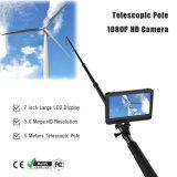 1080p Full HD de video digital CCTV Sistema de cámaras de inspección con 5m barra telescópica