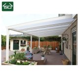 PC solvently Sheet aluminum Frame Awnings /Balcony Rain Awnings