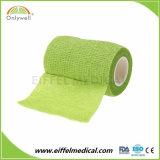 Imprimé personnalisé médical Non-Woven Vet Bandage cohésif de liage