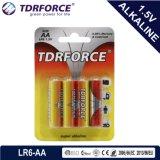 9 alkalische Batterie-Zelle des Volt-6lr61-9V für Rauch Detetor