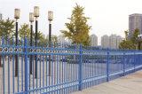Элегантные декоративные безопасности жилых оцинкованной стали саду через забор 60-3