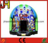 Lustige aufblasbare Disco, die federnd Schloss für Verkauf springt