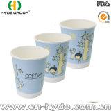 Taza caliente de la espuma del papel del café de 8 onzas con la impresión de encargo