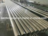 Pipe de grand dos soudée par fini d'acier inoxydable du satin 316 d'AISI 304 avec le prix concurrentiel