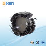 OEM 알루미늄 CNC는 부속을 정지한다 주물 열 싱크를 기계로 가공했다