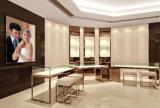 Vector de lujo de la visualización del departamento de joyería
