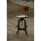 レストランの椅子を食事する産業金属の庭トレドBarstools