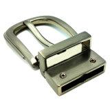 La boucle de courroie réversible en alliage de zinc de Pin de boucle en métal de qualité pour la robe ceinture les sacs à main de chaussures de vêtement (XWS-ZD421)