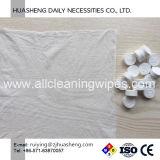 8pcs Emballage en aluminium nontissé mini serviette de toilette compressé