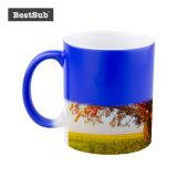 11oz Sublimation Color Changing Mugs (Blue)