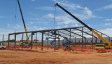 Edificios de almacenaje Pre-Dirigidos de la estructura de acero con la mejor calidad