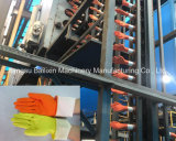 Guanti del lattice che tuffano il guanto speciale della macchina che fa macchina