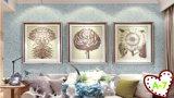 Papier peint normal de liquide de fibre de coton d'enduit artistique neuf de Décoration-Arc-en-ciel