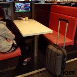 Современные искусственным мрамором 2-местный Cafteria стол и стулья
