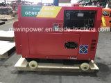 5kVA Portable Generador Diesel con motor refrigerado por aire