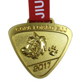 カスタマイズされた金属の挑戦鉄メダル