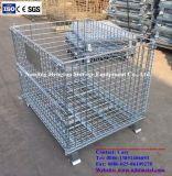 Heavy Duty Entrepôt Grillage Pallet Container avec traction