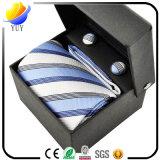Moda e Castiçais masculinos encantadores e conjuntos de gravatas para conjuntos de presente e brindes promocionais