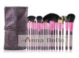 ПРОФЕССИОНАЛЬНАЯ красотка оборудует розовые цветы комплекта щетки 4 славы 20PCS