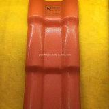 Azulejo de azotea español plástico del PVC para el mercado de Suramérica