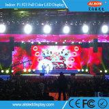Р1.923 полноцветный светодиодный экран Full HD в аренду для установки внутри помещений для отображения