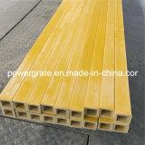 Pultruded FRP Труба квадратного сечения из стекловолокна и изделий из стекловолокна из волокнита структурные профили
