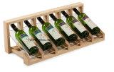 Сбор винограда установленное стеной Shelves полка древесины хранения вина и стеллажа для выставки товаров Arylic