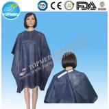 Синь плащи-накидк вырезывания волос PP Nonwoven