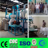 La Tanzanie 10 tonnes par machine de meulage de moulin de repas de maïs de jour