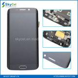Affissione a cristalli liquidi originale del telefono mobile per il bordo di Samsung S6 più affissione a cristalli liquidi