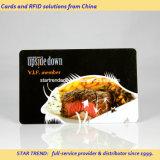 Cartão de desconto de PVC com tarja magnética (ISO 7811) para restaurante