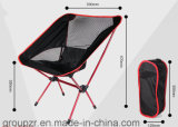 Mond-Stuhl mit super hellem Aluminium u. stärkerem Gewebe