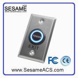 Bouton de sortie de la porte tactile à induction infrarouge en acier inoxydable (SB50T)