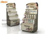 Papel cosmética Display cartón corrugado soporte de exhibición