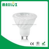 Proyectores de la MAZORCA GU10 LED del precio de fábrica 7W