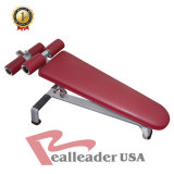 Banco registrabile della strumentazione di ginnastica/strumentazione di forma fisica per i muscoli addominali