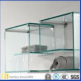 Precio de fábrica 2.5mm 3mm 5m m 6m m Vidrio de flotador de la placa por el corte al tamaño