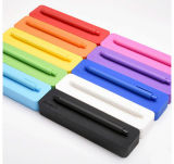La décoration d'Unbreakable Candy rectangle de couleur de la Papeterie Pen & Pencil Case en silicone pour les étudiants
