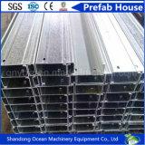 Fabricação de aço utilizados Formados a Frio C terça de aço de formato para venda