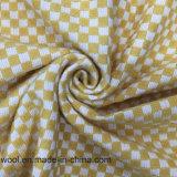 Colores ligeros de la verificación de la tela clásica de las lanas